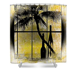 Aloha,from The Island Shower Curtain