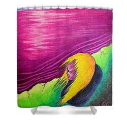 Alone Shower Curtain by Michael  TMAD Finney