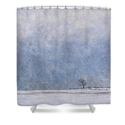 Alone Shower Curtain by Nicki McManus