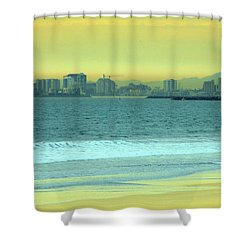 Alone Time Shower Curtain