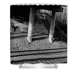 Shower Curtain featuring the photograph Alone Time by Tara Lynn