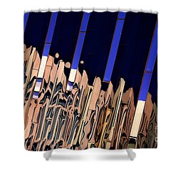 Along Euclid, Cleveland Shower Curtain