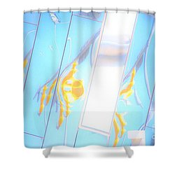 Along Euclid, Cleveland2 Shower Curtain