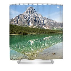 Along Highway 93 Shower Curtain