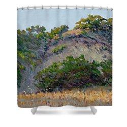 Along Jalama Creek Shower Curtain