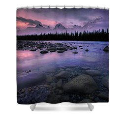 Along The Athabasca Shower Curtain