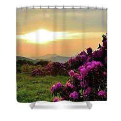 Along The Blue Ridge Shower Curtain
