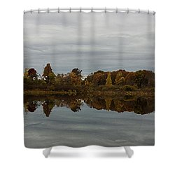 Along The Charles Shower Curtain