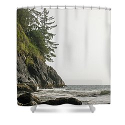 Along The Coast Shower Curtain