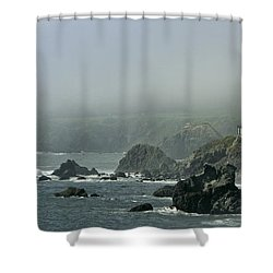 Along Route 1 Shower Curtain