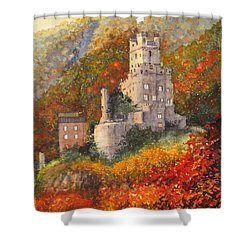 Along The Rhine I Shower Curtain