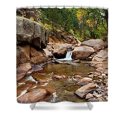 Along The St. Vrain Shower Curtain
