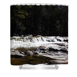 Along The Swift River Shower Curtain