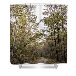Along The Trail Shower Curtain
