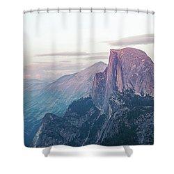 Alpenglow Shower Curtain