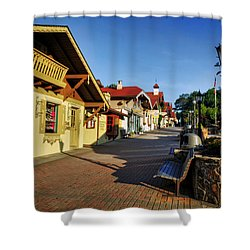 Alpine Helen Georgia Shower Curtain