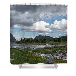 Alpine Oasis Shower Curtain