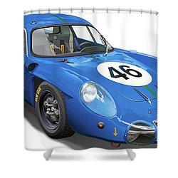 Alpine Renault A210 Shower Curtain by Alain Jamar