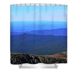 Alpine Tundra Shower Curtain
