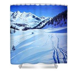 Alps Shower Curtain