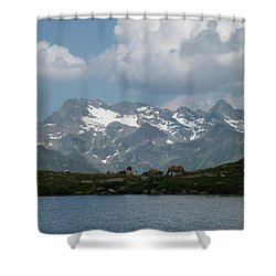 Alps Magenificence Shower Curtain