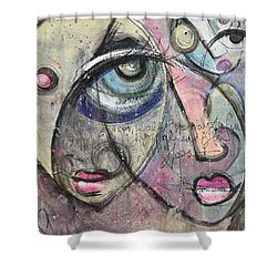 Already In My Heart Shower Curtain by Laurie Maves ART
