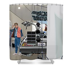 Alt. Poster Angle Shower Curtain