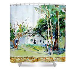 Alta/dutch Flat School Shower Curtain