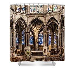 Paris, France - Altar - Saint-severin Shower Curtain