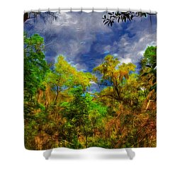 Altered State Shower Curtain