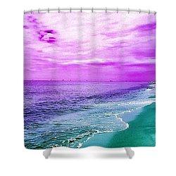 Alternate Beach Escape Shower Curtain