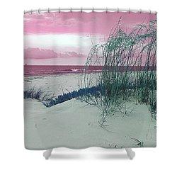 Alternate Beachscape  Shower Curtain