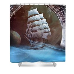 Alternate Perspectives Shower Curtain