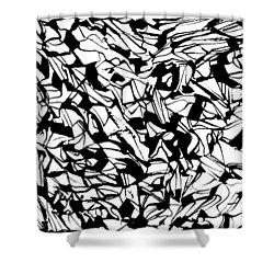 Alternate Topography 1 Shower Curtain