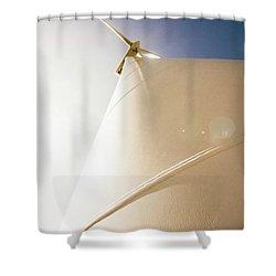 Alternative Energy Shower Curtain
