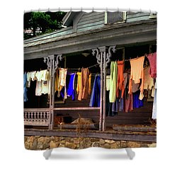 Alton Washday Revisited Shower Curtain