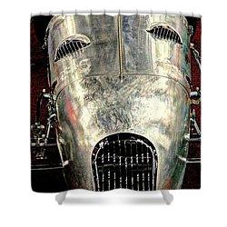 Aluminum Roadster  Shower Curtain