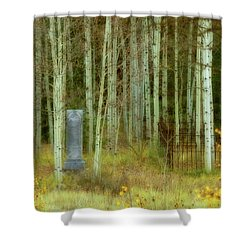 Alvarado Cemetery 41 Shower Curtain