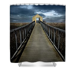 Alviso, California Shower Curtain