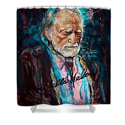Always On My Mind 2 Shower Curtain by Laur Iduc