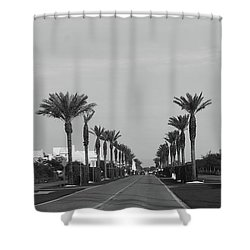 Alys Beach Entrance Shower Curtain by Megan Cohen