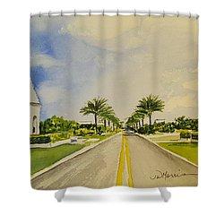 Alys Beach, Florida Shower Curtain