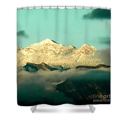 Am I In Heaven Yet? Shower Curtain