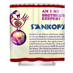 Am I My Brother's Keeper? Summer Shower Curtain