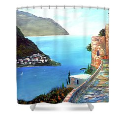Amalfi Gem Shower Curtain