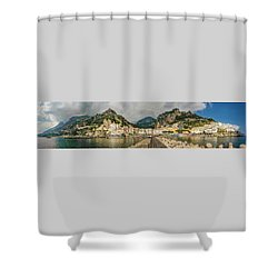 Shower Curtain featuring the photograph Amalfi by Steven Sparks