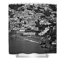 Amalfi's Positano Shower Curtain by Eric Tressler