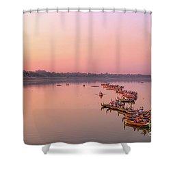 Amarapura Shower Curtain