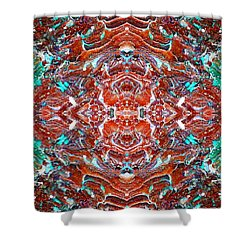 Amassed Existence Shower Curtain