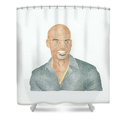 Amaury Nolasco Shower Curtain